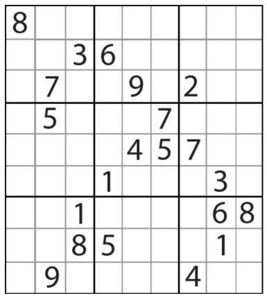 resoudre sudoku difficile